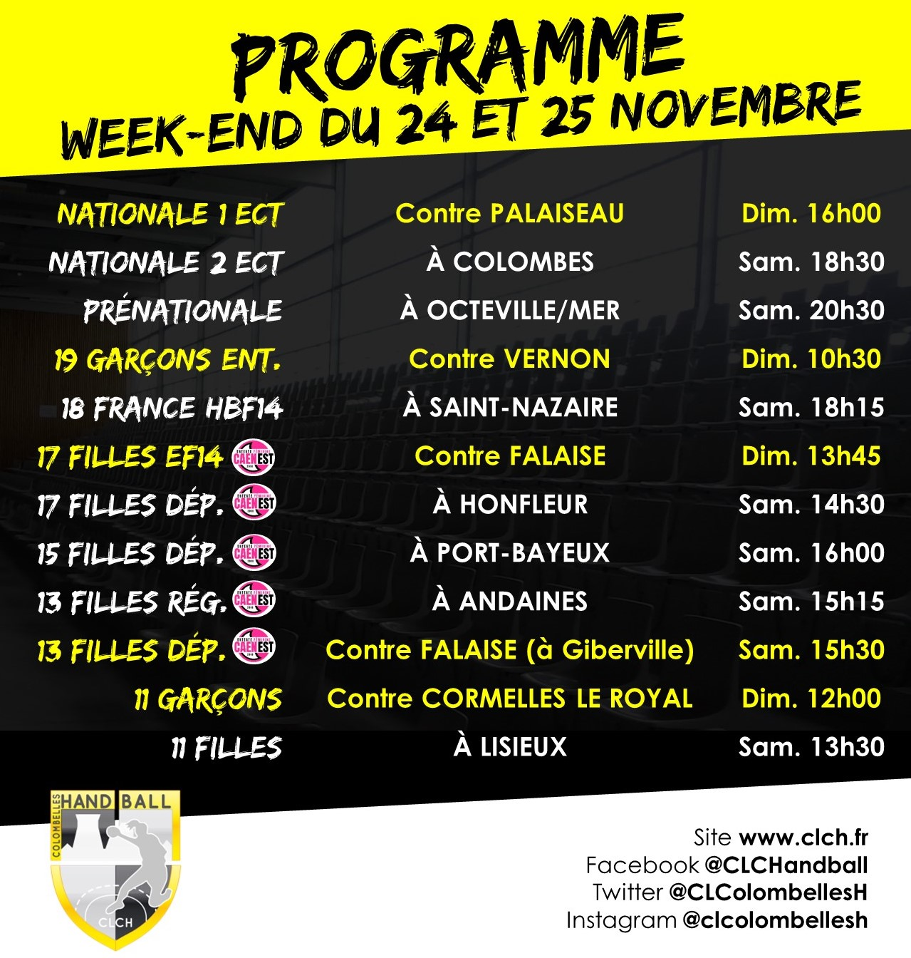 PROG WEEKEND 24-25 NOV