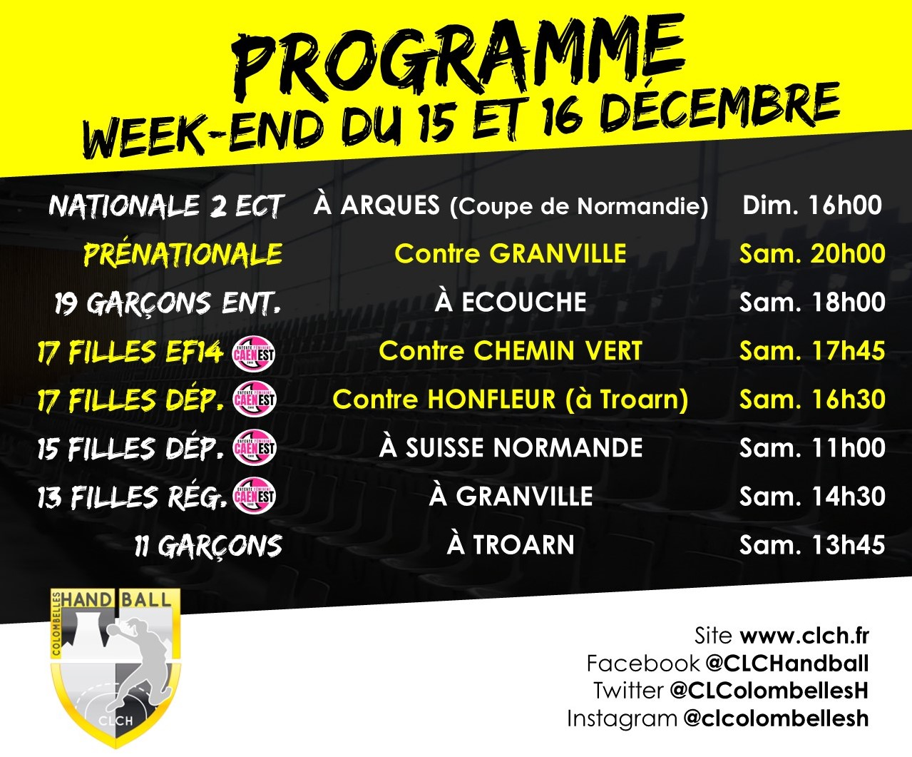 PROG WEEKEND 15-16 DEC