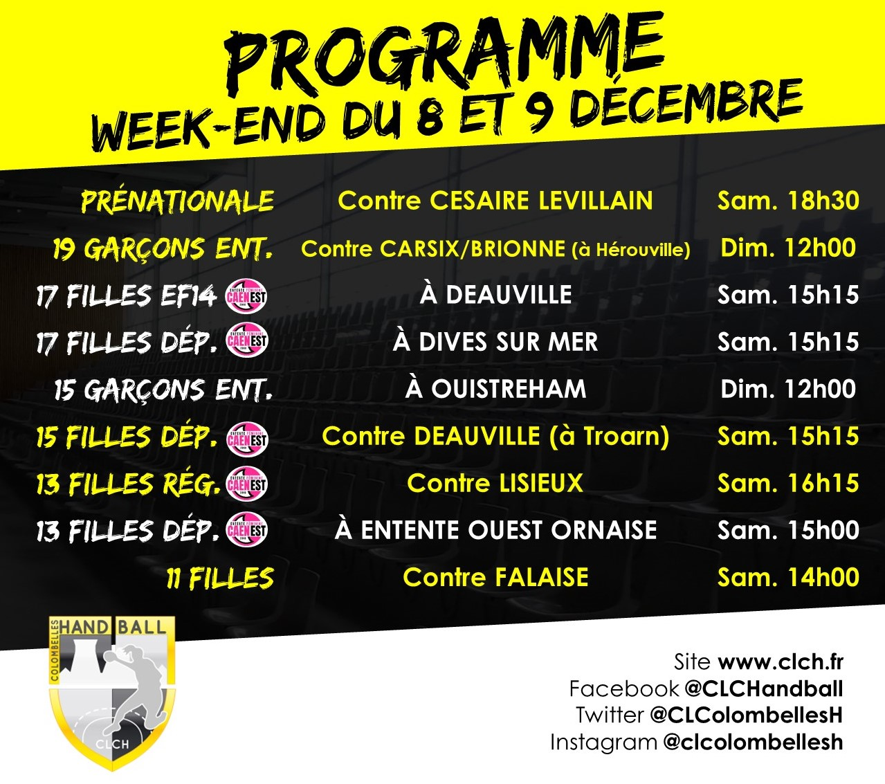 PROG WEEKEND 8-9 DEC