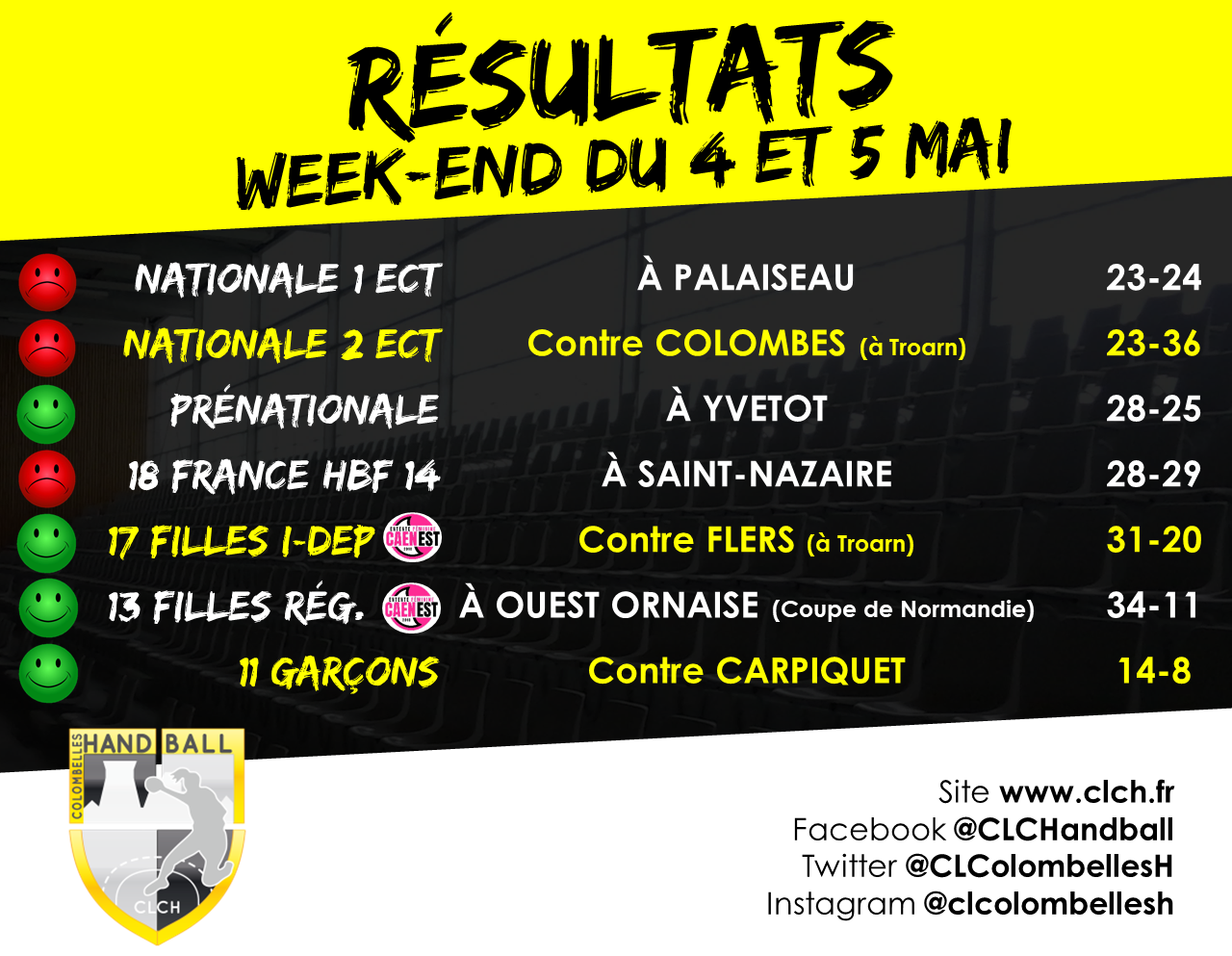 RES WEEKEND 4-5 mai