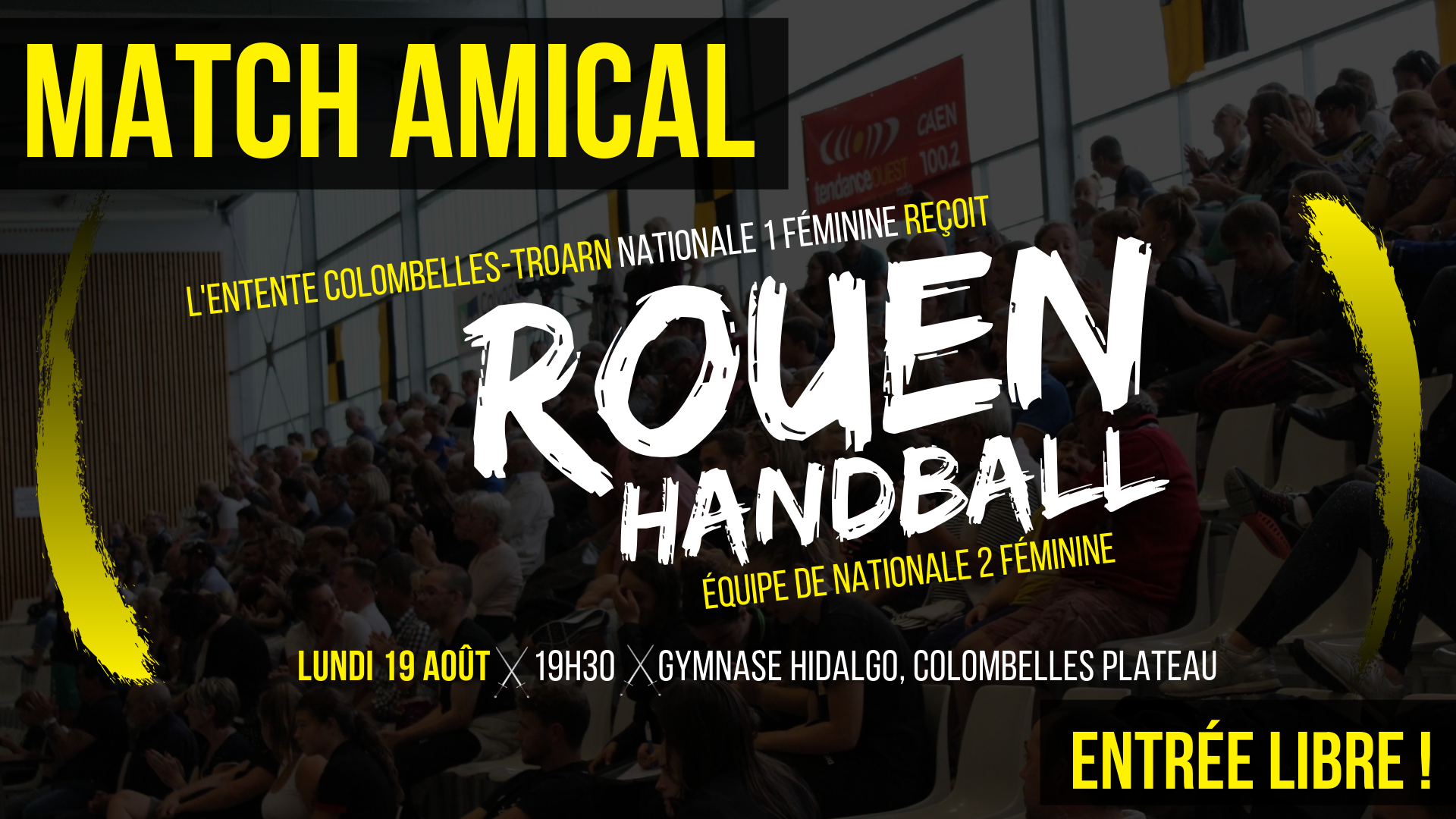 FB Amical ECT vs Rouen 19-08-19